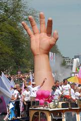 2009 08 01_2414 (Enrico Webers) Tags: gay party holland netherlands dutch amsterdam lesbian canal nederland pride parade lgbt homo prinsengracht nl gaypride paysbas 2009 ams niederlande lesbo canalpride 200908 gayexpats