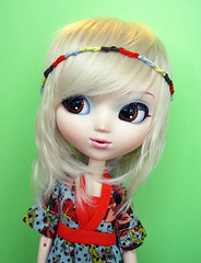 A Girl With Kaleidoscope Eyes (KitchCat) Tags: sky fashion 30 diamonds lucy doll with dress days beatles pullip rement boho celsiy