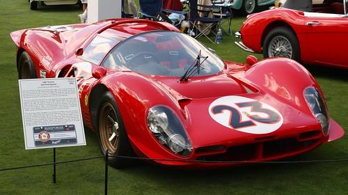 ferrari 330 p3 4. 1967 Ferrari 330 P3/4 Spyder