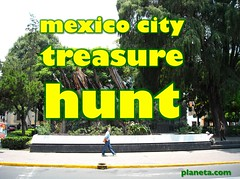 mexico city treasure hunt