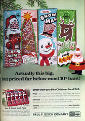 Marshmallow Santa ad