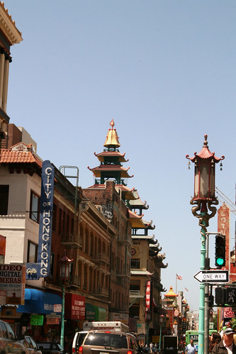 China Town San Francisco street view