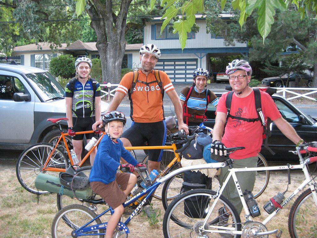 Bike Camping Posse