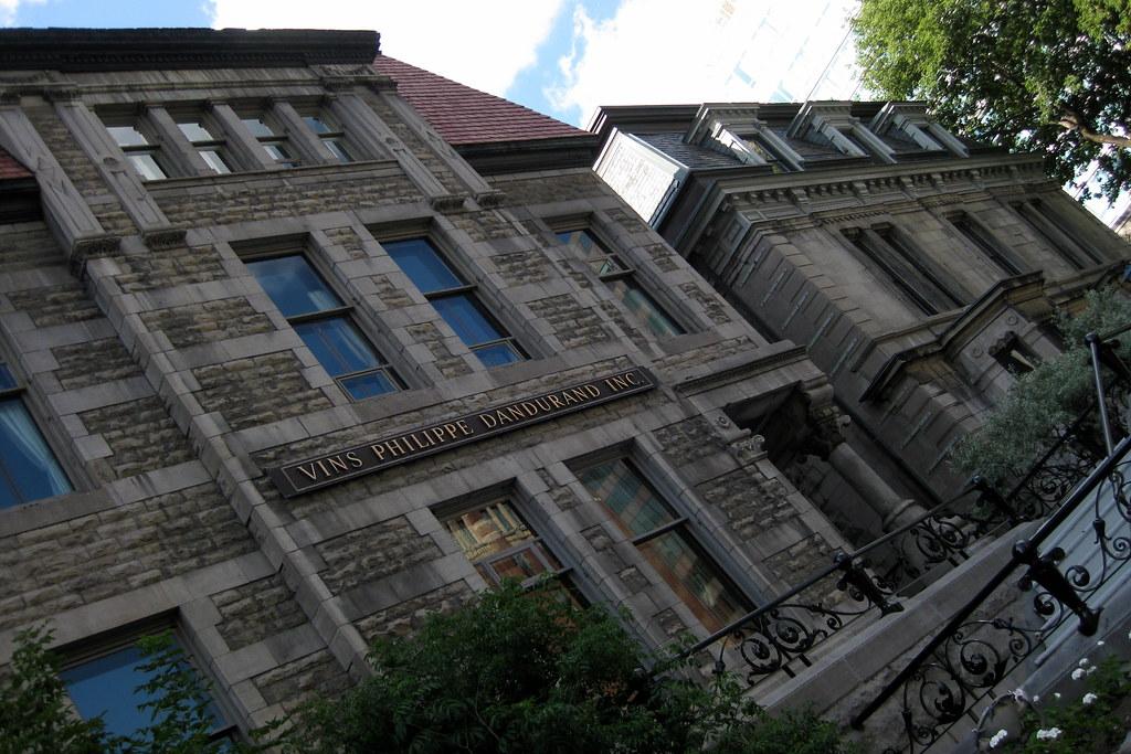 Montréal - Golden Square Mile: Maison Louis-Joseph Forget and Maison Reid-Wilsn