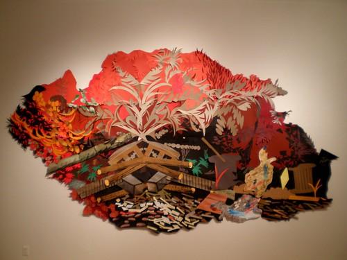 Eva Struble 2008 'Red Saint Marti', MOCA, Cleveland Ohio by hanneorla