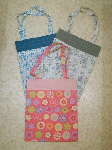 Finished totes