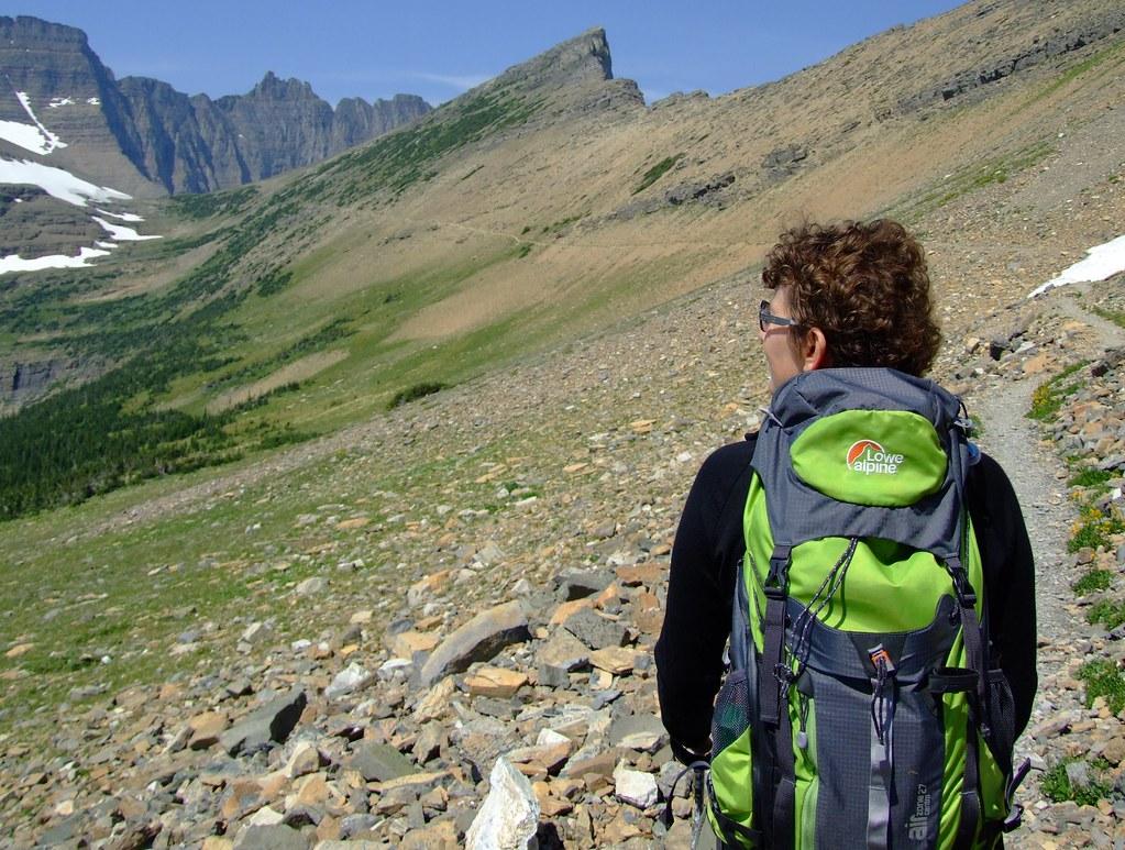 wandeling naar Piegan Pass