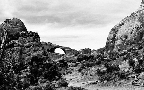 Skyline Arch - Arches National Park