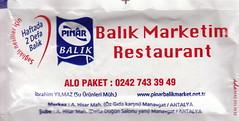 Balık Marketim Restaurant - Ön