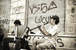 Les musiciens de Buenos Aires