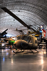 Bell UH-1 Huey (jharris0221) Tags: museum dulles bell helicopter hdr iroquois uh1 airandspacemuseam belluh1iroquois