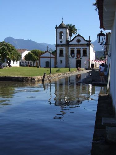 Igreja Santa Rita - Paraty/RJ