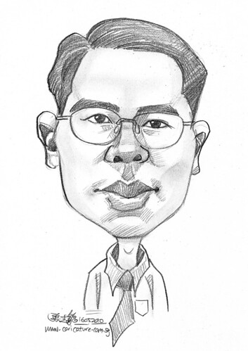 caricature for Hello Technology - 11