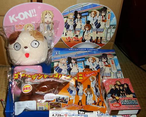 2011/05 ローソンけいおん!!フェア 第2弾