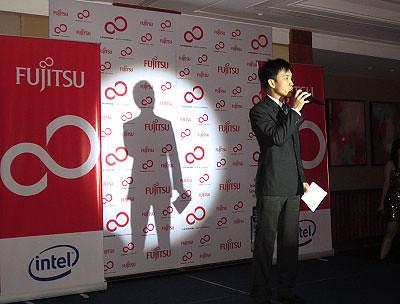 Mr. Ivan Ong, Associate Director of SEA Operations of Fujitsu - WhatTheFat.net