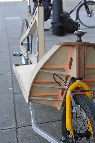 Plywood cargo bike-13