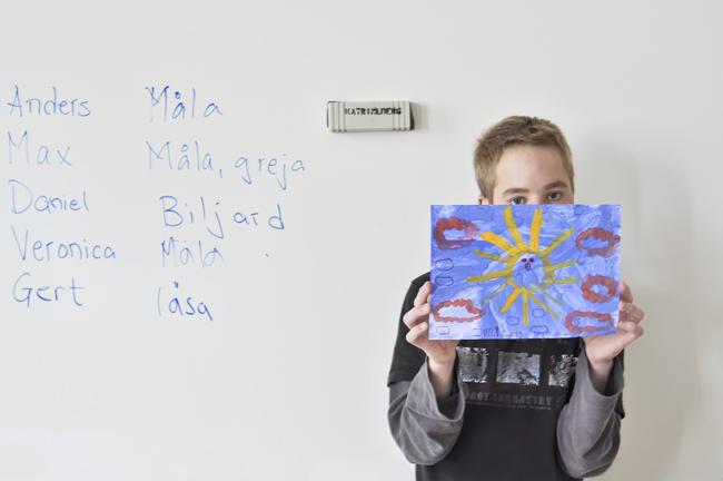 Max på Katrinebergs folkhögskola