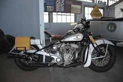 Harley Davidson Flathead Police Special (Carolinadoug) Tags: bike museum geotagged nikon harley harleydavidson motorcycle hd spencer d80 dougjohnson geo:lat=35687233 geo:lon=80435516 bigjohnsonphotoblogspotcom