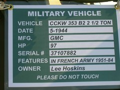 1944 GMC CCKW 363 B2 2½ ton truck 4410377' Info (Jack Snell - Thanks for over 26 Million Views) Tags: ca truck jack gm general military vacaville motors corporation company b2 trucks corp gmc ton 1944 snell 363 militaru 2½ cckw travisairexpo jacksnell707 2005travisairexpo cavehicles travisafbairforcebasevacaville corpr 4410377 ytrck