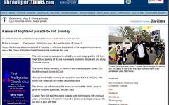 Krewe of Highland Parade to Roll Sunday Shreveport Times