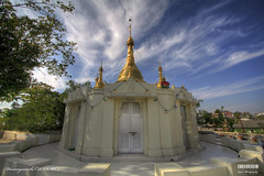 Dhamayaunchi Ceti (IMC) (Kyaw Photography) Tags: photoshop pagoda burma hdr imc efs1022mm freeburma canoneos450d internationalmeditationcentre rebelxsi kyawphotography yeyintkyaw
