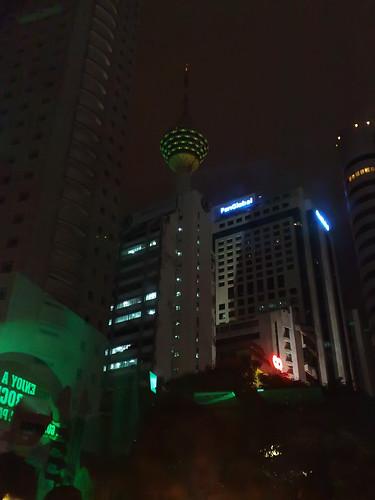 Green KL Tower.