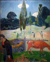 Gauguin, The Red Cow
