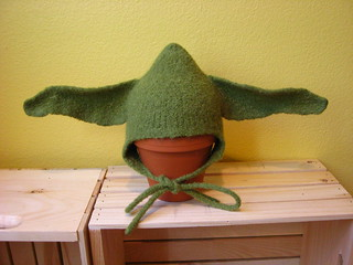 Ravelry Felted Baby Yoda Hat Pattern By Sunshyne Leland