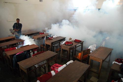 Dengue Fogging Classroom by Hermitianta P. Putra