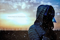 Blue winter (*Anfal) Tags: blue winter sunset sky snow clouds still warm wind you snowy voice your nights miss hear i mywinners abigfave platinumphoto theunforgettablepictures