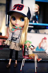 blythe doll - Dotty Dot with yotsuba