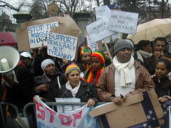 2nd March 2009 - Demonstration in Bern (Photo Mistre Haile Selassie)