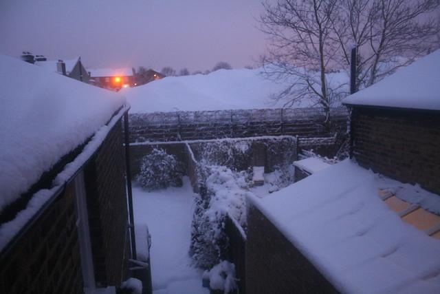 Demolition: Snow phase