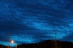 blue sky (SungsooLee.com) Tags: cloud nikon nightshot streetlamp voigtlander bluesky 58mm nokton d3 colourartaward