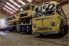 Aston Manor Transport Museum (George Daley) Tags: birmingham cobbles hdr tramlines tramshed witton vintagecoach photomatix vintagebuses astonmanortransportmuseum astonvilla1957 bccdiy bccdiypick