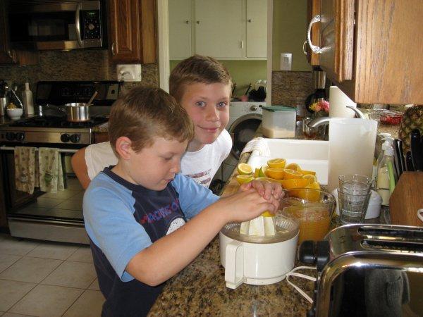 boys lemonade