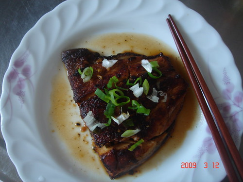 Fried Fish in Light Soysauce