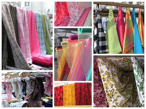 Fabric Market Collage
