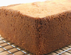 Toasted Coconut Pound Cake - Cooling