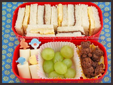 Bento #61 - Sandwiches, 2 ways!