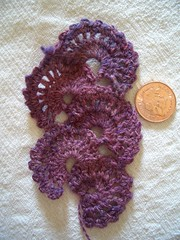 Handspun Fan Bookmark