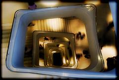 Stairway to Hell (Drummer Photo Experience) Tags: madrid color dark nikon shadows fear hell stairway escalera devil miedo oscura infierno d60 instantanea flickrestrellas drummerphotoexperience