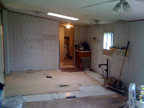 Little by little, almost finished gutting the kitchen