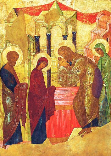 Icon of the Presentation of the Lord in the Temple