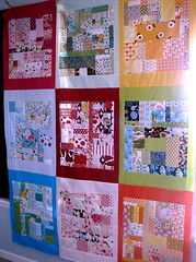 boxed scraps quilt in progress (Jacquie G) Tags: quilt quiltblocks scrapblocks