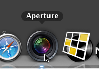 Step 01 -- Launch Aperture and create a new Library