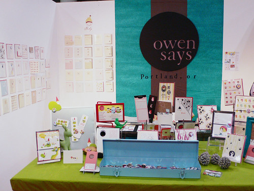 Booth, tabletop display, & sign