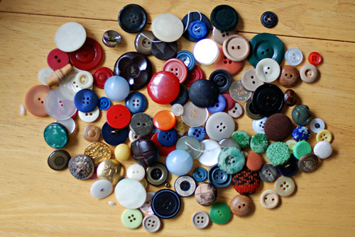 vintage buttons!