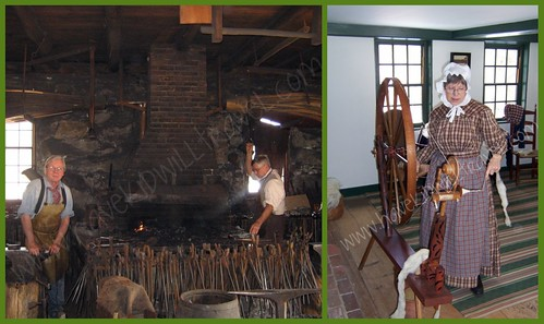 Old Sturbridge Village demonstrations, Massachusetts