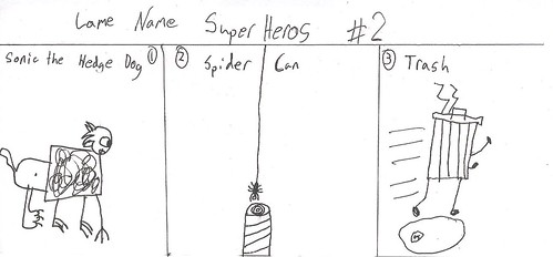 Lame name super heros new 1